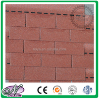 20 Year warranty professional manufactures coloured glaze bitumen roofing shingle with high quality