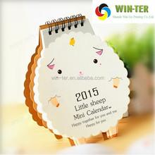 WT-CLD-1383 Mini kraft paper calendar