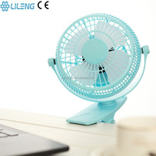 """Wholesale new model 6"""" mini usb clip fan with 2 speed chooses and five color table fan wholesale"""