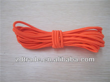 3mm Neon Orange strong elastic bungee cord colored