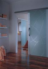 2015 stylish aluminum box rail track hardware for sliding glass/wooden doors