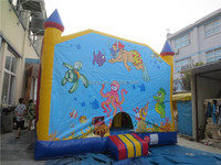 Hot sale funny inflatable bouncer castle for sale