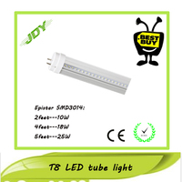 Super bright SMD3014 25W day white subway LED Tube Fixtures 5ft