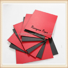 dongguan red paper/card for birthday invitation cards