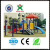 With Roof children play ground/best backyard playsets/cheap garden slides/QX-11049B