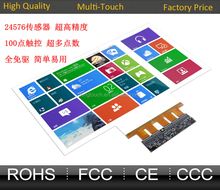 """Nanotechnology Transparent 47"""" Interactive Touch Foil,Transparent Touch Film For Windows glass shop And Touch Table"""