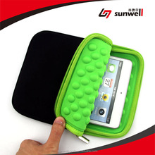 SUNWELL 10.1-inch Waterproof Shockproof Neoprene Sleeve Case Cover Protective Pouch Bag for Apple iPad
