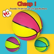 custom logo print rubber mini basketball balls,good quality rubber basketball