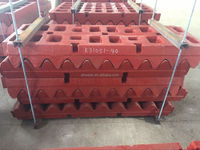 UAE AFRICA RUSSICA MARKET CHINESE PE PEX PEW SERIES JAW CRUSHER PARTS- JAW PLATE JAW DIE