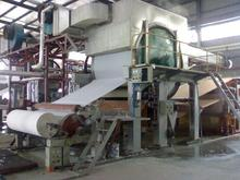 Toilet paper and facial tissue machine Machines to produce toilet paper from sugar cane bagasse, recycled paper, bamboo