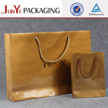 Candy stripe with handles brown wax recycled paper bags wholesale