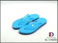 New style massage PVC upper strape TPE outsole home slippers for women