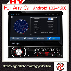 High quality wholesale fashion car dvd 2 din for Any car android 1024*600