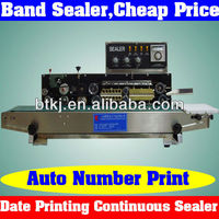 Manual Control Plastic Sealer Machine with Code Printing,Semi-Automatic Plastic Sealing Machine Best Price for India Market