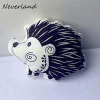 Irregular pillow plush pillows car neck cute Hedgehog children's toys, puppets pillow christmas pillow covers,DIY Pillow BZ138