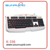 Professional Wired Backlit Multimedia LED Gaming Keyboard with 12 Multimedia Keys