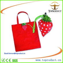 Foldable nylon bag with drawstring closure pouch