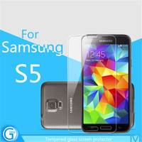 Clear Tempered Glass Crystal Screen Protector for Samsung S5