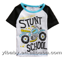2015 baby clothes wholesale price organic kids boy cartoon t-shirt