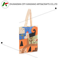 Alibaba China supplier recyclable nature high quality cotton tote bag