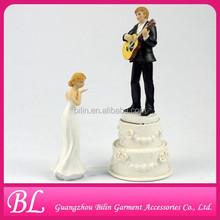 Guitar Wedding Cake Topper cake decoration accessories