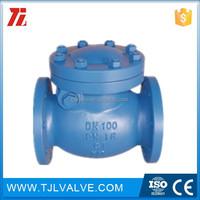 pn10/pn16 ci/di bronze y type check valve good quality