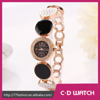 New Style Casual Stainless Steel Wristwatch Women Dress Watches Diamond round table Crystal Women Dress Watch XR718