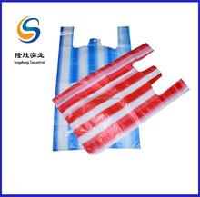 plastic shopping stripe bags