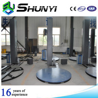 Automatic cut system pallet stretch film wrapping machine