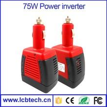75W CAR POWER CONVERTER mini 12v dc/ac power inverter charger 12V DC to AC 75 WATT 12vdc to 220vac
