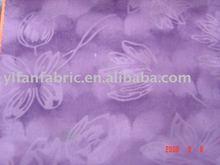 polyester fashion knitted embossed diamond velvet fabric for dress
