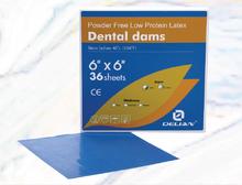 Delian Dental Dams Oral Isolation
