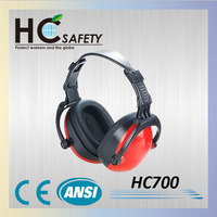 WHC700 Made in Taiwan hight quality ANSI and CE fordable sound proof safety ear muffs