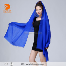 2015 wholesale cheap Pure color scarf inner mongolia cashmere shawl
