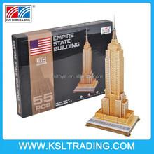 55PCS Empire State Building children 3d jigsaw puzzle for sale