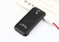 backup battery Ultra Silm 3200mAh External Backup Battery Charger Case For Samsung Galaxy S4 S IV I9500+Flip leathe Cover Emerge