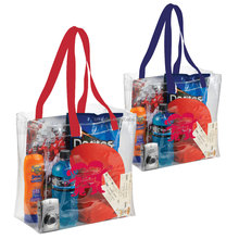 Quality NFL Clear PVC Shopper Tote Bags