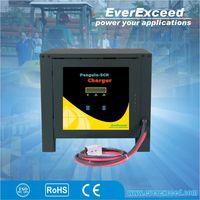 EverExceed Intelligent Precise Control 24v 36v 48v 72v 80v portable solar Car Battery Charger