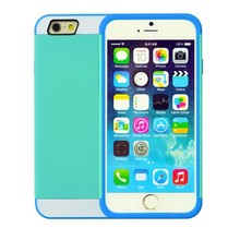 Cell phone case hybrid TPU and PC Layered Hard Case Rubber Bumper mobile phone case for iphone6