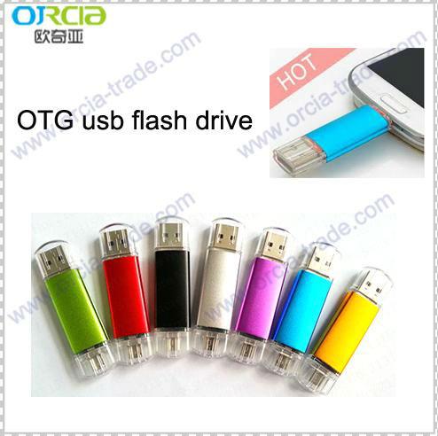 HOT!2015 newest usb OTG usb flash drive 4gb 8gb 16gb 32gb