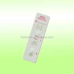 hCG Pregnancy Test Strip (Serum/Urine)