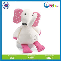 2015 new plush animal toys stuffed plush elephant teddy bear toy sale to oversea