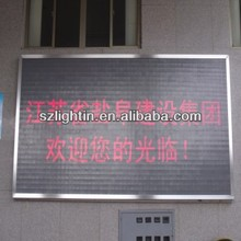 rechargeable battery powered led sign outdoor led clock time date temperature car window led signs led sign display
