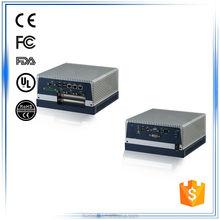 Intel Core i7 i5 P4500 CPU 1*VGA 1*DVI 3*LAN 6*USB 4*COM 2*PCI-Express or 1*PCI +1* PCI-E fanless embedded box pc