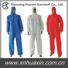 spray suit disposable coverall/SMS coveralls