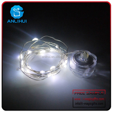 Outdoor Light String RGB 20 Led Fairy Waterproof candle Lights