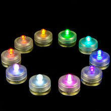 Baby shower decorations Battery Small Water Submersible Led Floating Tea Light