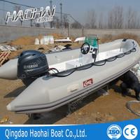 CE 5.2m center console inflatable rib fiberglass rib boat /yacht