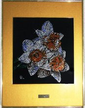 Crystal Art Panel With Swarovski Crystals
