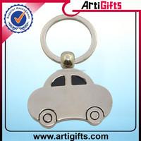 China factory supply car shaped coin keyring
